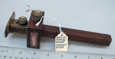 Patented Apl'd For Marking and Mortise Gauge