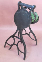 Patented Combination Cast Iron Shoe Shine Stand / Boot Jack