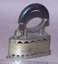 Small European Charcoal Iron