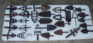 Collection of Primitive Trivets