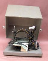 Electric Wilcox & Gibbs Sewing Machine w/ Box