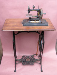 Muller 18 Toy Treadle Sewing Machine / TSM w/ Dome Top