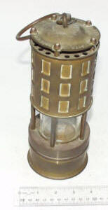Miners Davey Safety Lamp