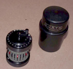 Curta Type 2 Calculator