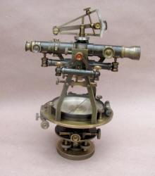 W& L. E. Gurley #17 Engineers Surveying Transit w/ Burt Solar Attachment