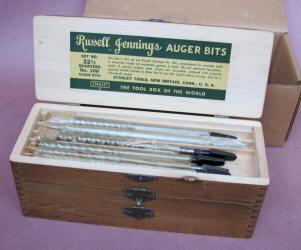 Russell Jennings / Stanley #100 Auger Drill Bit Set