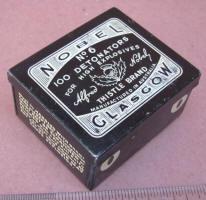 Nobel Blasting Cap Tin
