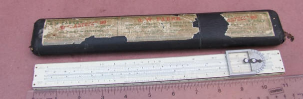A. W. Faber #367 Slide Rule w/ Keeper Cursor