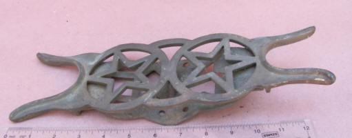 Double Star Rocker Style Cast Iron Boot Jack