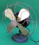 GE / General Beaded Base Electric Fan w/ Pancake Motor