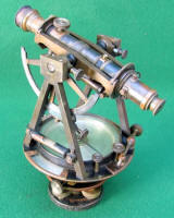 W. & L. E. Gurley Engineer's Transit w/ Theodolite Axis