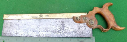 Disston Dome Nut 12 Inch�Backsaw
