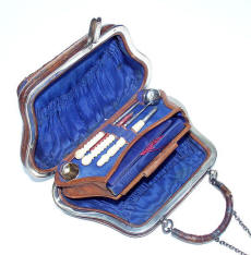 19th Century Lady's Sewing Purse