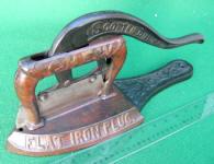 Scotten Dillon Co. Flat Iron Plug Tobacco Cutter