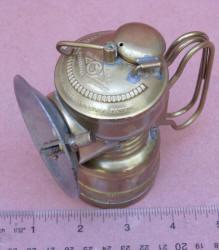 John Simmons #209 Pioneer Carbide Miners Lamp