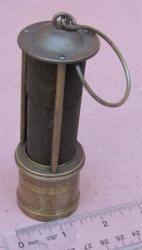 Hughes Brothers Scranton PA Vest Pocket Safety Lamp