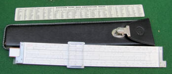 Dietzgen Microglide Trig Type Log Log Slide Rule