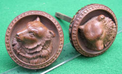 Figural Doggy Doorknobs