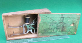 American Hand Sewing Machine in Original Box