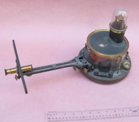 Antique Galvanometer w/ Scope