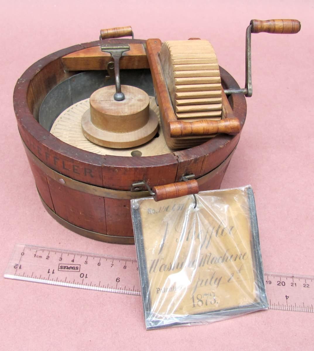 Salesman Sample / Patent Model Washer Sales Archive