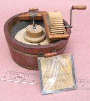 1873 Patent Model of Washing Machine by Jacob Sheffler of Deslem IL