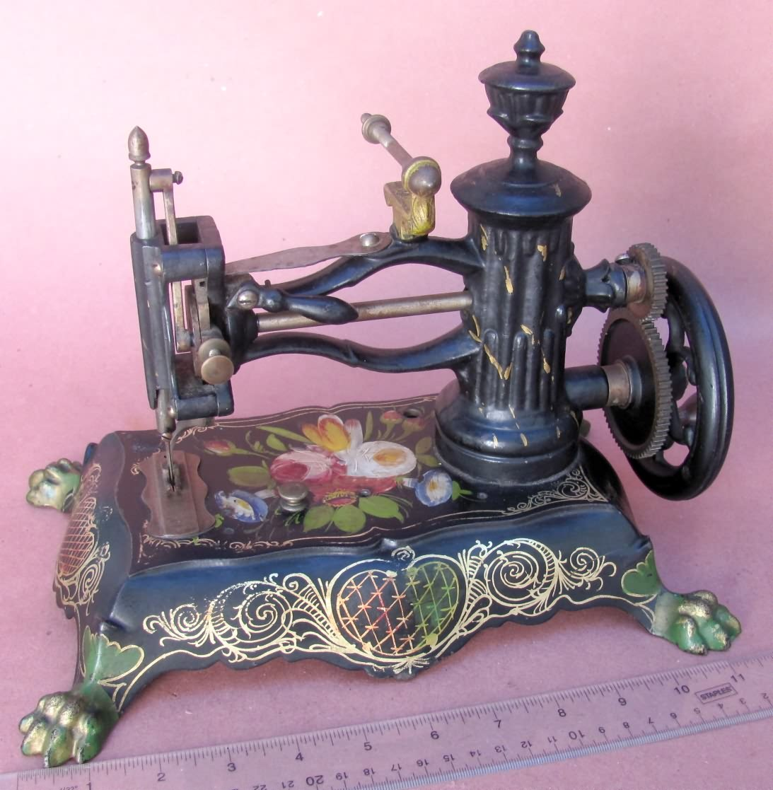 Antique Pawfoot Sewing Machine