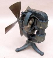 T. A. Edison Battery Powered Electric Fan Motor