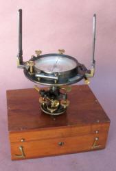 W. & L. E. Gurley #285 Pocket Railroad Compass w/ Tripod