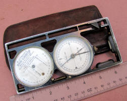 M. Attwood / Lietz Miners Clinometer / Compass