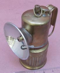 Dew-R-Lite TIP Carbide Miners Lamp by Dewar