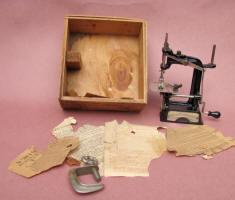 John Wannamaker / Smith & Egge Sewing Machine w/ Original Box