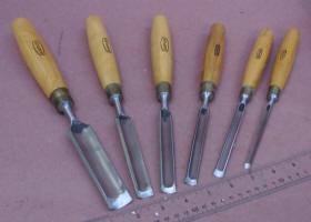 6 Marples Carving Gouges