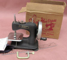 Stitch Mistress by Genero TSM / Toy Sewing Machine w/ Box