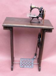 F & W Automatic Toy Treadle Sewing Machine / TSM