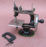 Singer Model 20 antique toy sewing machine