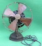 GE / General Electric Beaded Base Electric Fan w/ Pancake Motor