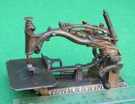 Patented 1858 Clark Patent Foliage Sewing Machine