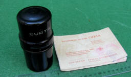 Type 1 Curta Calculator w/ Metal Case