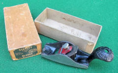 Stanley # 100 1/2 Round Bottom Tailed Block Plane in Original Box