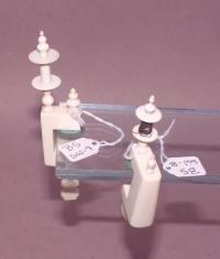 2 Ivory Thread Winders / Spools