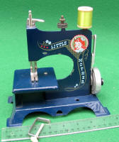 Blue Little Mother TSM Toy Sewing Machine