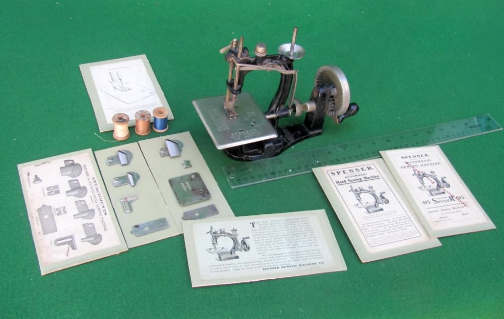 WwwAntiqBuyer Antique TSM Toy Sewing Machines Past Sales Archive Stunning Travel Size Sewing Machine