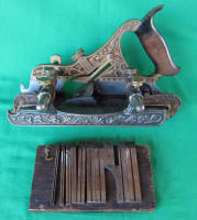 Stanley #42 Millers Patent Gunmetal / Bronze Plow Plane 