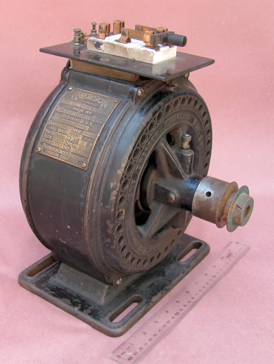 Www antiqbuyer past sales archive antique electric motors for 1 4 hp dc motor