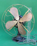 Wesco St Louis 16 Inch Electric Tank Motor Desk Fan
