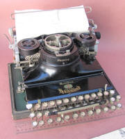 Multiplex Folding Typewriter