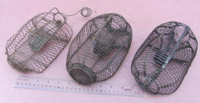 Antique Mouse Size Live Traps