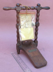 1858 Patent Model Boot Jack