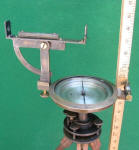 John Roach Vernier Mining Compass w/ Clinometer Sighting Feature